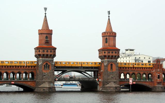 Мост Обербаумбрюке Берлин
