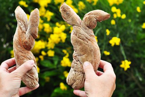 Brot Hasenohrenbrot Hase Hasen Ohren Hasenohren Brigitte Stolle