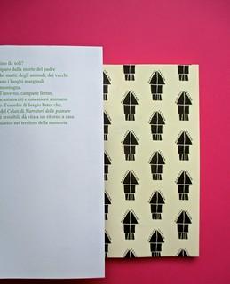 Romanzi, collana di Tunué edizioni. Progetto grafico di Tomomot; impaginazione di TunuéLab. Risvolto della copertina, carta di guardia [Peter] (part.), 2