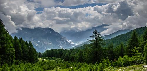 natura verde bivacco sentiero grand hoche