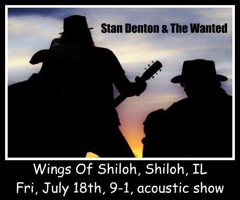 Stan Denton & The Wanted 7-18-14