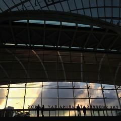 Sunset at the Shoppes. at The Shoppes At Marina Bay Sands