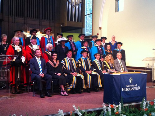 University of Huddersfield Graduation Ceremonies