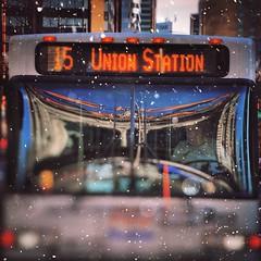Bus Union Station Denver LoDo Downtown Colorado 590HR1