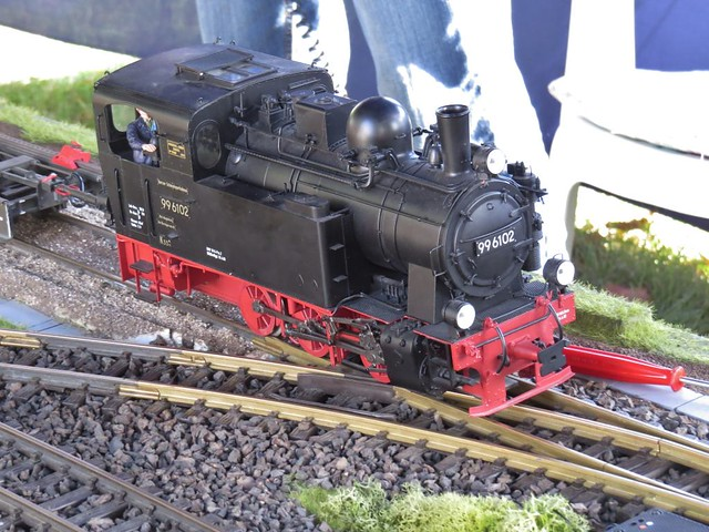 model railway, looks like real