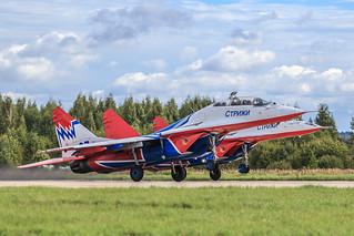 "MiG-29UB ""Swifts"" (""Strizhi"")"