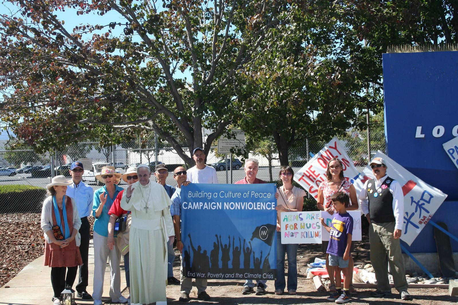Sunnyvale, CA Peace Vigil at Lockeed Martin 2016 (3)