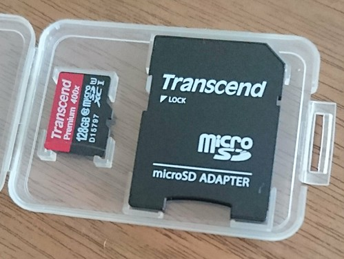 Transcend 128GB microSDカード
