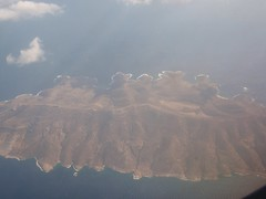 The island of Milos from the air Image