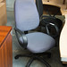 Purple swivel chair €40