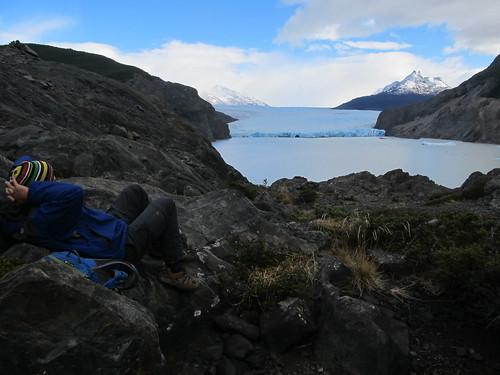 Torres del Paine: trek du W. Jour 5: le glacier Grey.