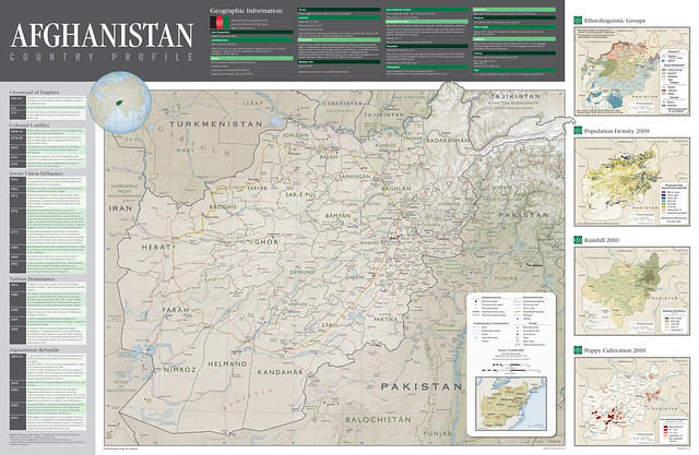 CIA: Country Profile of Afghanistan | Mappenstance.