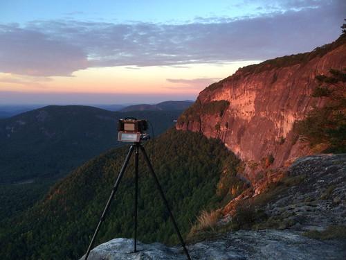 whitesidemountain sunrise westernnorthcarolina color iphone 5s affinityphoto