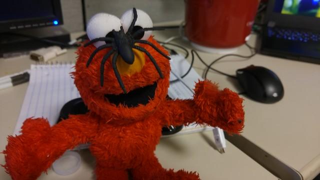 Aaaahh!!!  Spider!!!