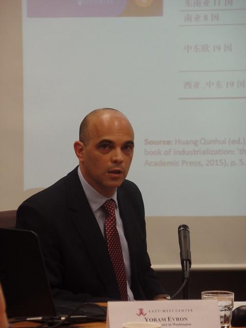 Yoram Evron  Visiting Fellow, East-West Center in Washington