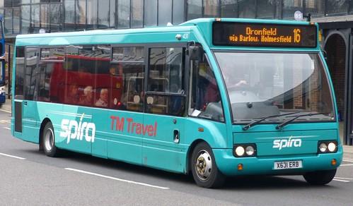X631 XRB 'TM Travel' No. 431 Optare Solo on Dennis Basford's 'railsroadsrunways.blogspot.co.uk'