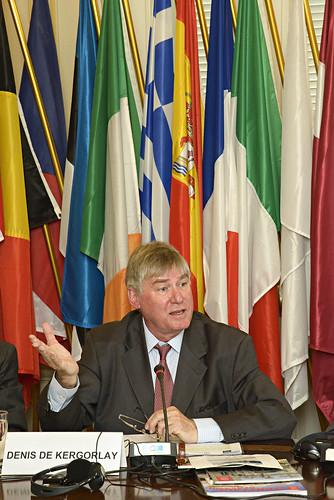 Denis de Kergorlay, Président exécutif d'Europa Nostra
