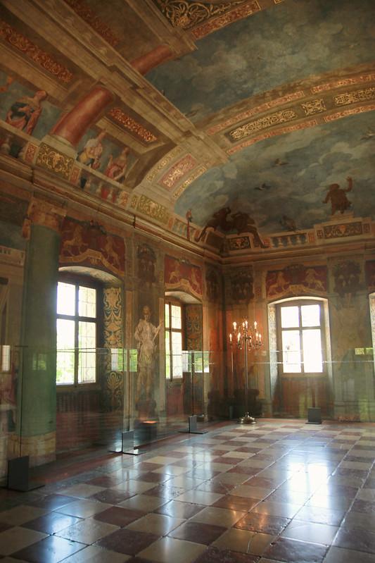 ballroom, old castle