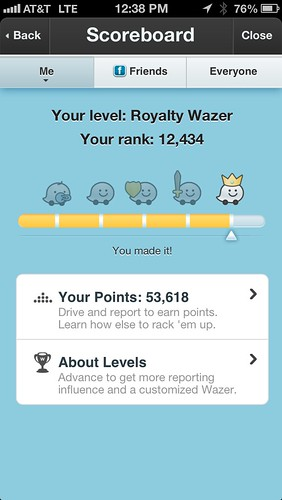 Woot! I'm royalty!