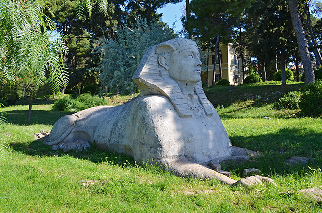 The Zadar Sphinx, Zadar, Croatia
