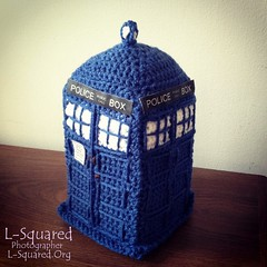 Arabella's Mom's completed TARDIS