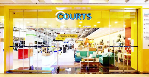 courts furniture store