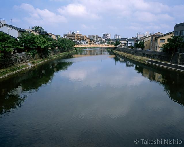 新しくなった中の橋 / Renewed Nakanohashi bridge