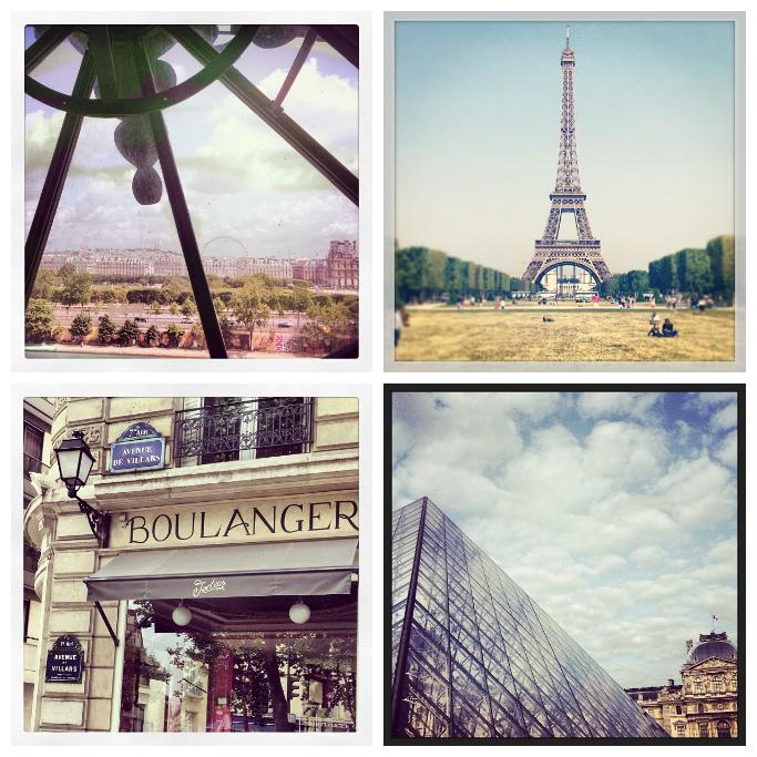 Paris, boulangerie, eiffel tower, champs de Mars, Lourve, Louvre Museum, Musee D'Orsay, clock,