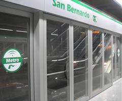 Estación de metro de San Bernardo