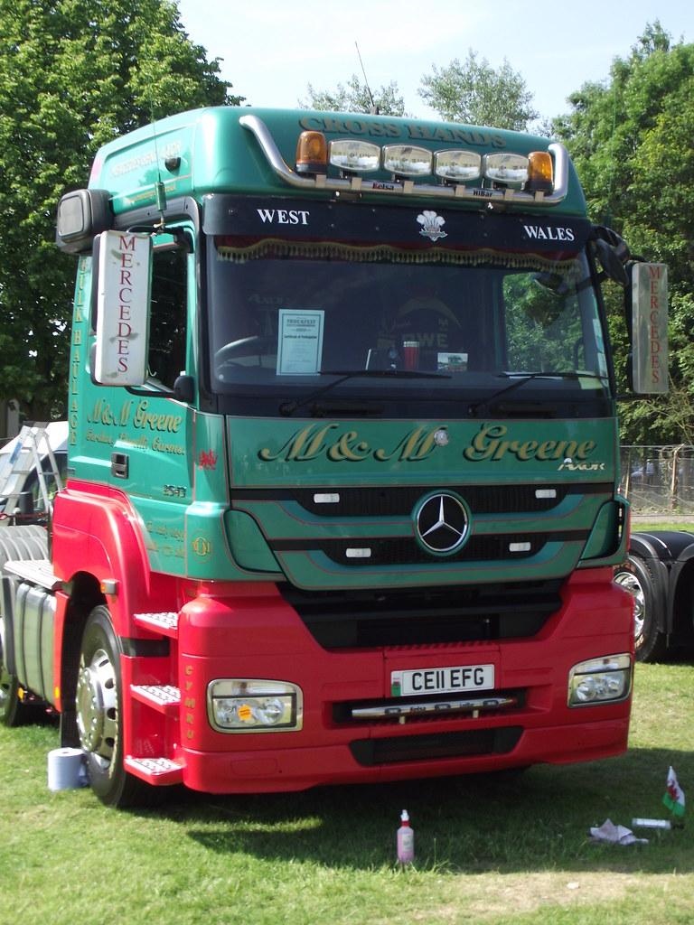 M & M Greene Mercedes Benz Axor 2543 CE11 EFG