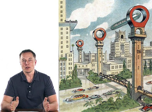 Элон Маск расскажет про Hyperloop в августе