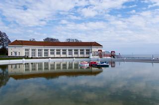 Westcliff Boating Lake sur la Royal Esplanade à Ramsgate