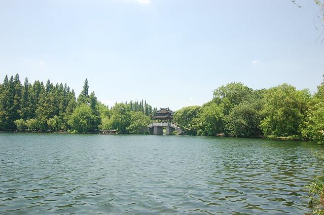 杭州西湖蘇堤
