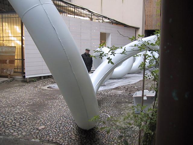 2005 - INTERVENTO AMBIENTALE,  Entrata Libera, Fuori salone, Milano