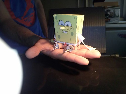 Spongebob by Giuseppe Lombardi