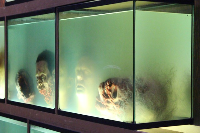 Walking dead returns to halloween horror nights 2013 in for Halloween fish tank decorations