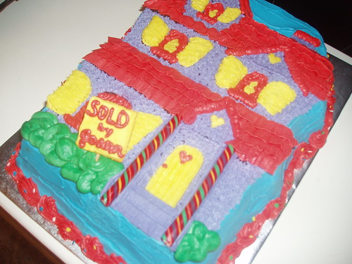 'House for Sale' Cake by melissatarun