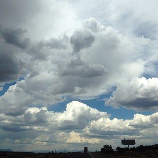 Day207 Utah sky (driving back home now. Vacation over! Boo!) 7.26.13 #jessie365  #utah #sky #clouds  #nofilter
