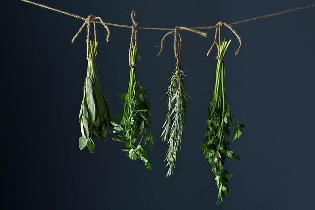 How to Dry Herbs from Food52