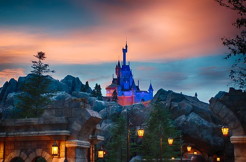 Beast's Castle at Sundown