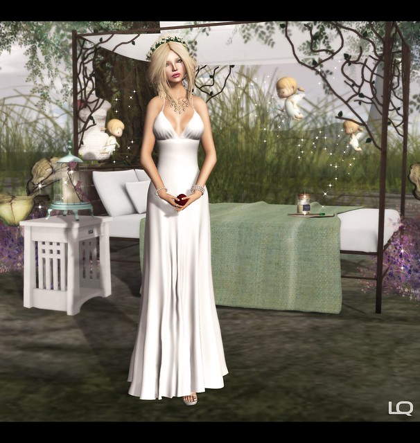 Baiastice_Arya Dress & Alouette - Forest Canopy Bed