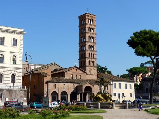 Ésta es la iglesia de Santa María in Cosmedin en la que se encuentra la famosa Bocca Boca de la verdad de Roma - 9493484640 121cdbc238 z - Boca de la verdad de Roma