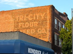 Tri City Flour Feed Company Ghost Sign