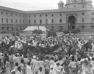 India's first Independence day celebration