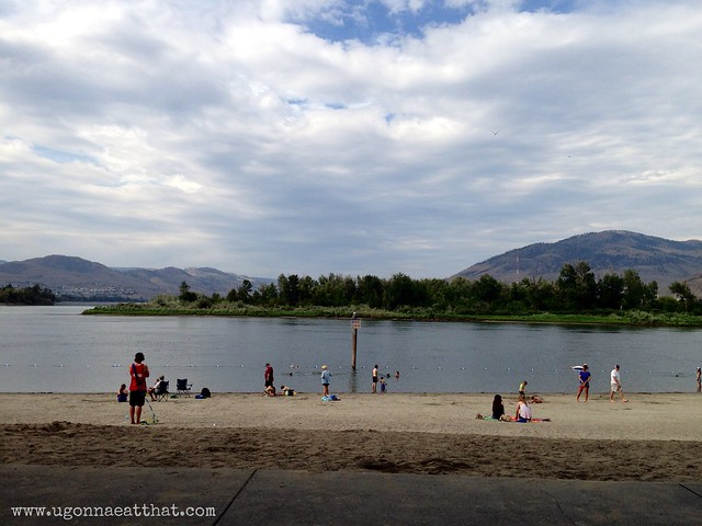Riverside Park beach, Kamloops