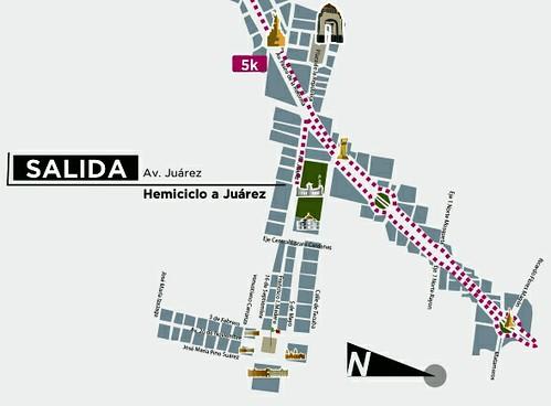 Nueva salida Maratón de la Ciudad de México