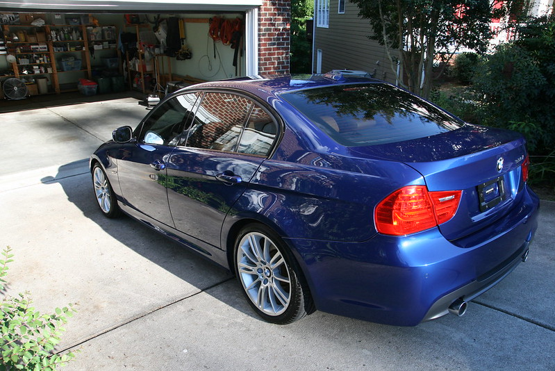 bmw 335 paint correction