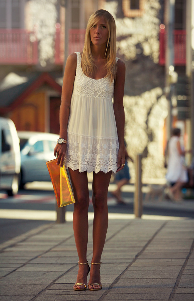 style lover abercrombie white dress VIII