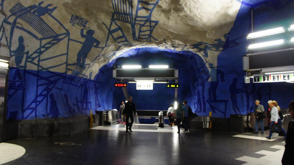 Tunnelbana T-Centralen
