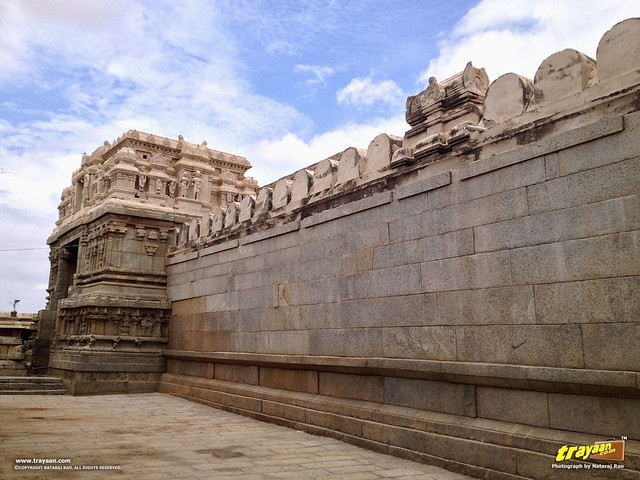 Veerabhadra Swamy Temple at Lepakshi, in Andhra Pradesh, near Andhra - Karnataka border, India